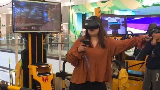 姐们, 你这是高手在VR呀, 手都不够用